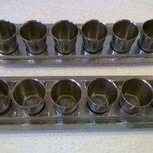 Ποτηράκια λικέρ ( 2 σέτ )