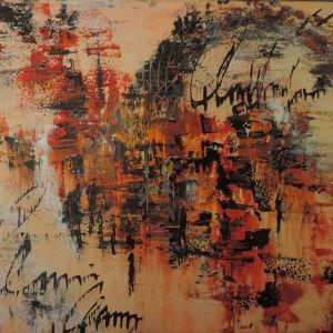 Αυθεντικός πίνακας ζωγραφικής σε καμβά 80Χ60 εκ.