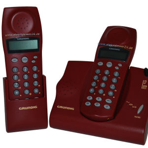 grundig cp870 cordles phone family set with box batery wires service manual