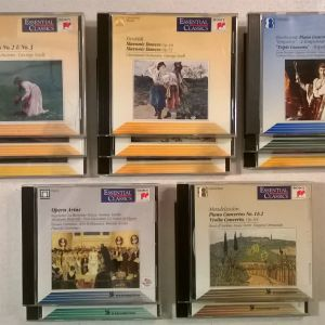 CDs ( 14 ) Κλασική Μουσική + 1 CD δώρο