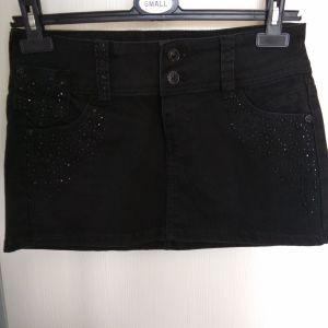 TAllY WEIJL jean φούστα μαύρη