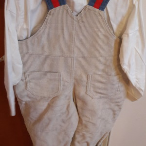 Ολόσωμο φορμάκι με πουκάμισο