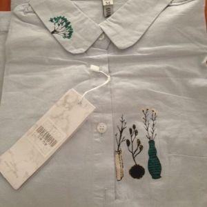 πουκαμισο γυναικειο νο medium ολοκαινουργιο + φουλαρι