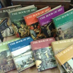 """Εγκυκλοπαίδεια """"THE BOOK OF ART"""""""