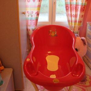 Mπανιερα μωρου με βαση & Στρώμα Ασφάλειας Μπάνιου