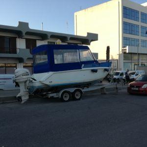 Πωλείται σκάφος 7μετρων με καμπίνα