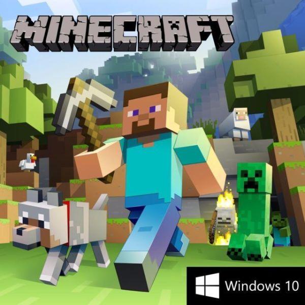 Minecraft gia WINDOWS 10