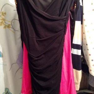 Φορεμα απο ελαστικη οργαντζα sisley no small