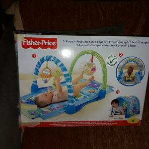 Γυμναστηριο για μωρο 3-1 fisher price
