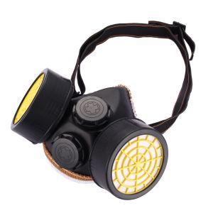 Βιομηχανικη Μασκα Προστασιας - Διπλος Αναπνευστηρας