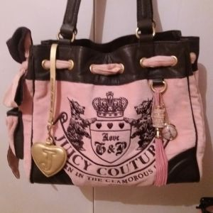JUICY COUTURE PINK VELOUR DAYDREAMER
