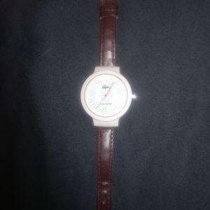Ρολόι la coste+δώρο τσαντάκι KEM γνήσιο
