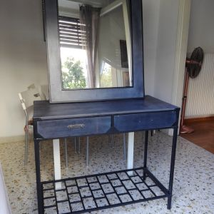 Τουαλέτα και καθρέφτης