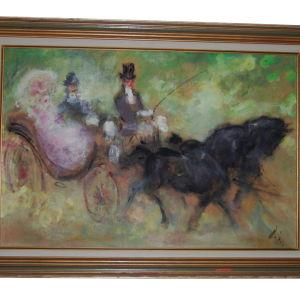 Αυθεντικός Πίνακας DORIS Μιχαήλ Παπαγεωργίου