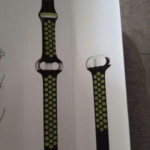 Λουράκι για Apple black volt Nike sports smartwatch