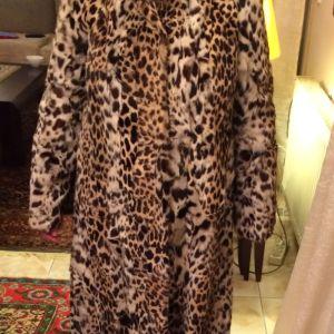 Γούνινο παλτό Léopard