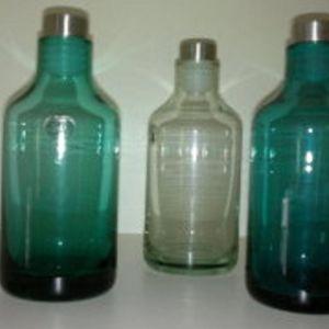 3 μπουκαλακια αχρησιμοποιητα ikea