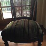 Χειροποίητη τραπεζαρία με 6 καρέκλες