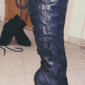 Ψηλοτάκουνες Μπότες Νο38