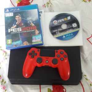 Ps4 500gb 1 controller dual shock4