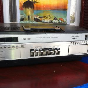 Fisher VIDEO PLAYER και recorder