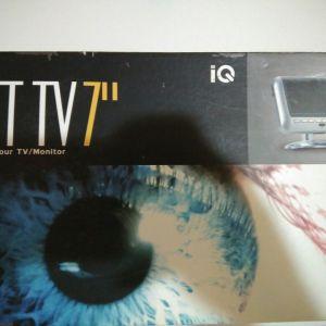 """τηλεόραση 7"""" IQ"""