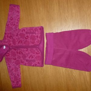 h&m fleece σετ για 1-2μηνων