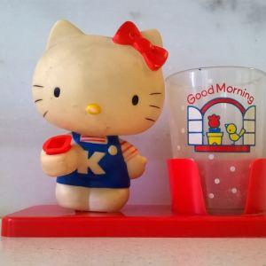 Hello Kitty's Θήκη οδοντόβουρτσας - Sanrio 1976