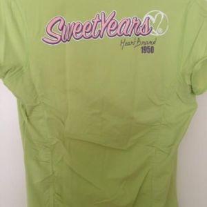 μπλούζα sweet years εισαγωγής ολοκαίνουργια no small χρώμα λαχανι αγορασμένη 60 ευρω