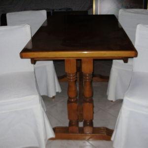 τραπεζαρια με (4) καρεκλες-θεσσαλονικη