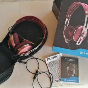 SENNHEISER Momentum On-Ear Pink Ακουστικά