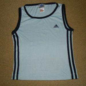 adidas γυαλιστερο αθλητικο μπλουζακι medium