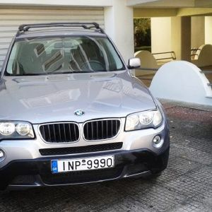 BMW  X3  2.0d  facelift 2007