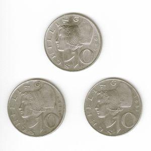 36 Συλλεκτικά Αυστριακά Νομίσματα