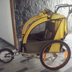 καρότσα τρέιλερ για ποδήλατο