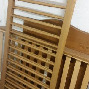 Παιδικό κρεβατάκι με το στρωματακι του αγορασμένο από το IKEA