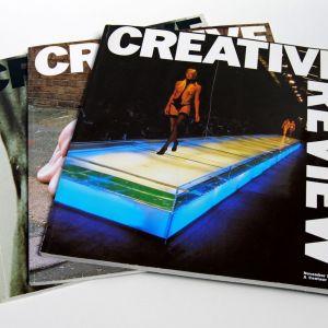 3 Περιοδικά Γραφιστικής CREATIVE REVIEW