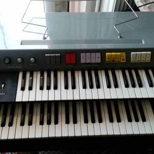ΑΡΜΟΝΙΟ Εlka mod. capri duo Italian Combo Organ 1969