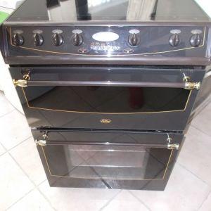 Κεραμική διπλή κουζίνα Belling με αέρα.. Retro Style!