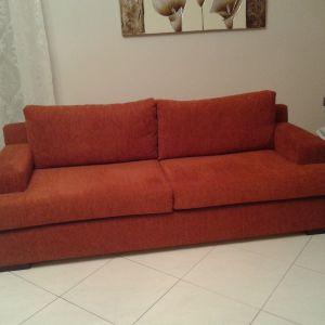 Σαλόνι τριθέσιος και διθέσιος καναπές