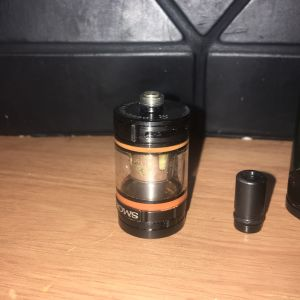 Ηλεκτρονικο τσιγάρο wismec 300W+Ατμοποιητης