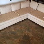 Γωνιακός Καναπές τριθέσιος και διθέσιος διαστασ.3μ.χ2.40 βαθος 0.80 (3 τεμ.)