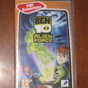 Ben 10 Alien Force - PSP Game