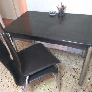 Τραπέζι κουζίνας + 4 καρέκλες
