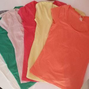 Μπλουζάκια σετ 5 τεμάχια Zara Bershka H&M