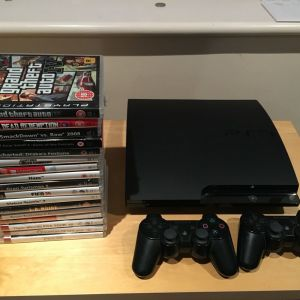PS3 slim αριστο με πολλα extras + JAILBREAK (σπασιμο) + games απο 3 ευρω! + skylanders