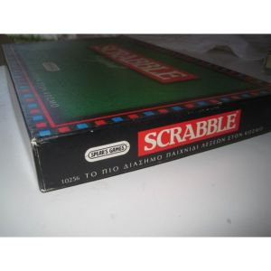 SCRABBLE ORIGINAL TOY 1991 EL GRECO.