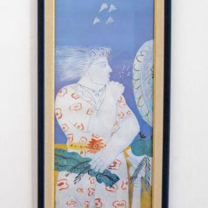 Πίνακας Φασιανός Μουσικοί Ψίθυροι Αντίγραφο με Κορνίζα
