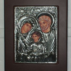 Εικόνα SLEVORI με τη Θεία οικογένεια