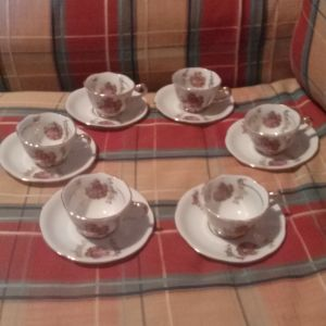 Σετ φλυτζανακια του καφε vintage